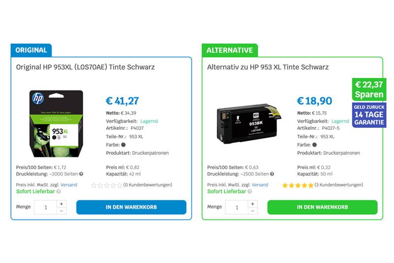 Vorteile von kompatiblen Tonern und Druckerpatronen?